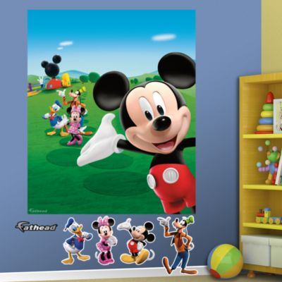 Mickey Mouse Clubhouse Mural Fathead Wall Decal